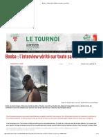 Booba _ l'Interview Vérité Sur Toute Sa Carrière2