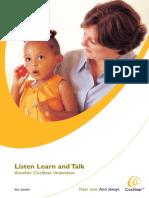 Listen Learn and Talk Milestone