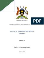 Legislative Process in Uganda