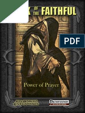 Book of the Faithful - Power of Prayer pdf | Prayer | God