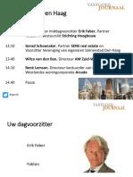 Pres. Woningmarkt Den Haag 27sept17-Verz