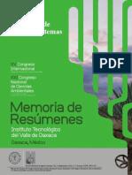 Memoria Resumenes Oaxaca 2016