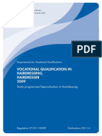 140419 Vocational Qualification in Hairdressing 2009