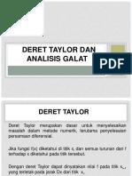 MetNum2-Deret_Taylor+Analisis_Galat