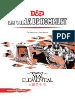 La Villa De Hommlet D&D 5