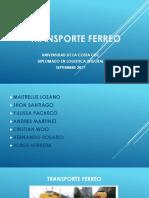 EXPOSICION TRANSPORTE FERREO