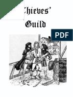 Thieves Guild - Thieves' Guild 01 1st Ed Core