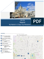 Madrid My Madrid in 3 Days Top Attractions Itinerary