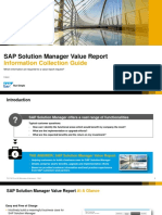SolMan Value Report Info Collection Guide V05