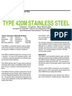 420 m Stainless
