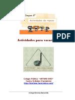 Cuadernillo Con Actividades de Lectura y Ortografia 5