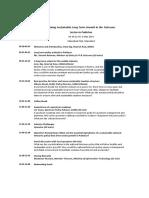 Pakistan Policy Workshop 6 May 2014 Islamabad Draft Agenda