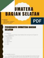 Sumatera Bagian Selatan