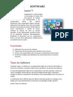 TICs 1 Software