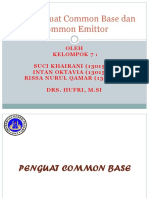Ppt  Common Base Dan Common Emitor