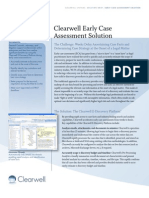 Clearwell Early Case Assessment Solution