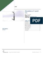 Kuncil LLL SimulationXpress Study 1