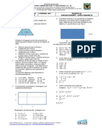 Prueba Semestral 8 Matematicas