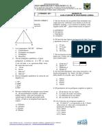 Prueba Semestral 7 Geometria