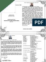 Buku Aturcara Majlis Pelancaran Alumni Dan Reunion SMKB V2
