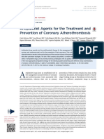 Antiplatelet Agents for the Treatment and Prevention of Coronary Atherothrombosis