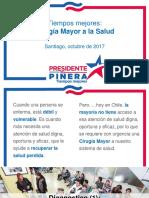 Propuesta de Salud de Sebastián Piñera