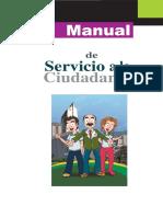 Manual de Servicio a La Ciudadanía