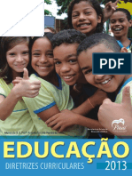 Diretrizes Curriculares Da Educação Básica - SEDUC-PI