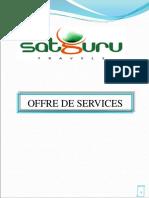 Satguru Tourism Offre de Services