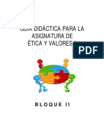 Comp Etica y Valores II BII