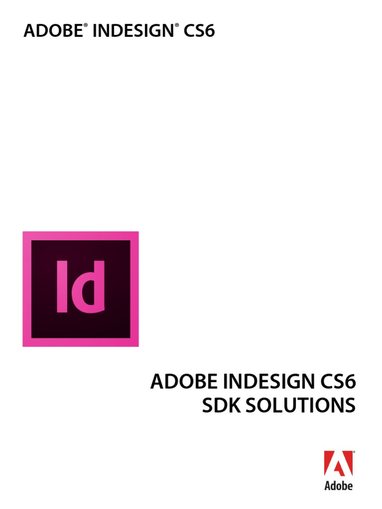 Adobe Indesign Cs6 Sdk Solutions