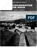 Libro Abastecimiento de Agua. Arocha