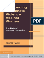 Renate Klein Responding to Intimate Violence against Women The Role of Informal Networks.pdf