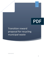 Proposal for an Circular Economy Transition Fund