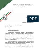 Carta Abierta de la Federación Rural al presidente Tabaré Vázquez