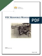 VEC Resource Manual July2014 1