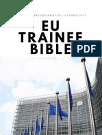 EU Trainee Bible - October 2017