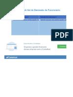 Planilha Checklist Demissao Contaazul r