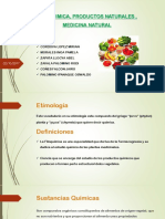 Fitoquimica, Productos Naturales