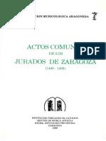 Actos Comunes Jurados Zaragoza 1