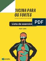 eBook Lista de Exercicios Medicina Abril 2016
