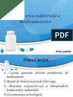 Producerea industrială de medicamente.ppt