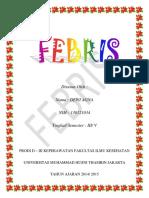 Booklet Febris