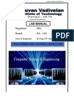Cs6413 Operating Systems Laboratory