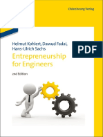 Entrepreneurship for Engineers - Helmut Kohlert Et Al. (Oldenbourg, 2013)