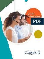 Convergys 2016 Annual Report