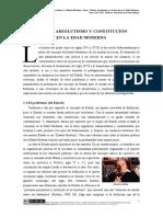 Tema1-Poder_y_sociedad - Estado, Absolutismo y Constitución