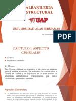 Capitulo I ALBAÑILERIA ESTRUCTURAL