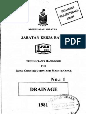 Handbook No 1 - Drainage | Erosion | Drainage