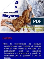 Caidas en El Adulto Mayor